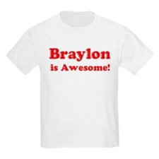 Braylon is Awesome Kids T-Shirt