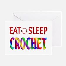 Eat Sleep Crochet Greeting Cards (Pk of 20)