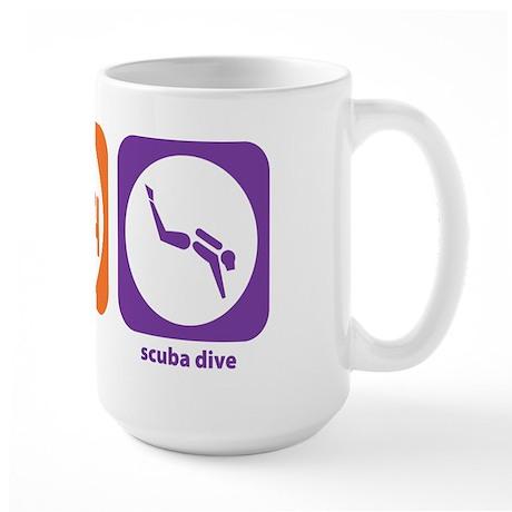 Eat Sleep Scuba Dive Large Mug