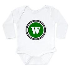 Green Long Sleeve Infant Bodysuit