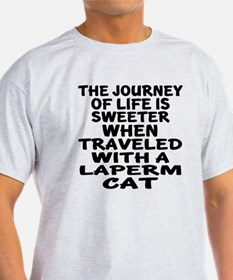 Traveled With laperm Cat T-Shirt