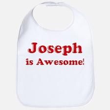 Joseph is Awesome Bib