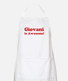 Giovani is Awesome BBQ Apron