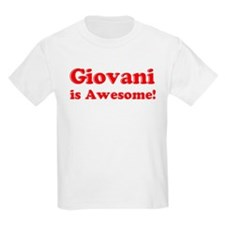 Giovani is Awesome Kids T-Shirt