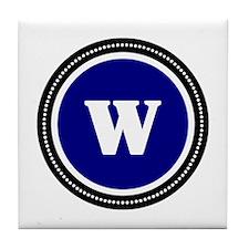 Blue Tile Coaster