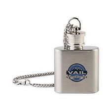 Vail Blue Flask Necklace