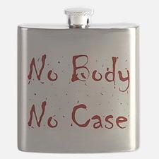 No Body, No Case Flask