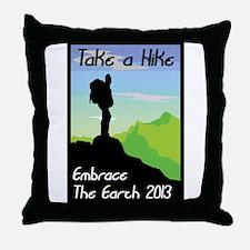 Celebrate Earth Day 2013 Throw Pillow