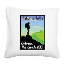Celebrate Earth Day 2013 Square Canvas Pillow
