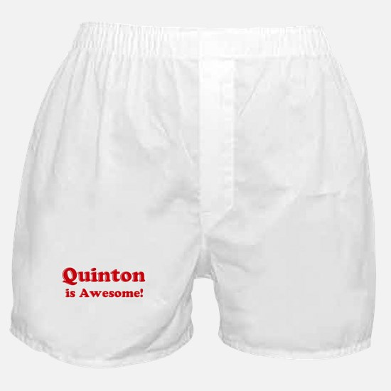 Quinton is Awesome Boxer Shorts