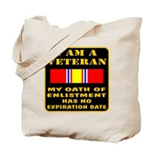 I Am A Veteran Tote Bag
