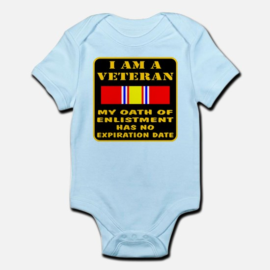 I Am A Veteran Infant Bodysuit