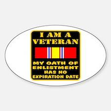 I Am A Veteran Decal