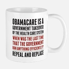 Repeal And Replace Obamacare Mug