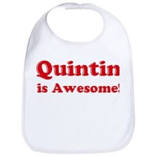 Quintin is Awesome Bib
