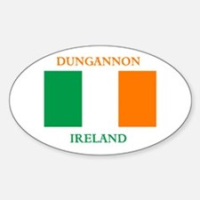 Dungannon Ireland Sticker (Oval)