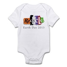 Earth Day 2013 Recycle Infant Bodysuit