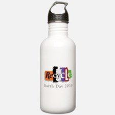 Earth Day 2013 Recycle Water Bottle