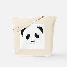 Panda face Tote Bag