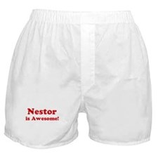 Nestor is Awesome Boxer Shorts