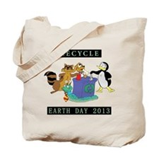 Recycle Earth Day 2013 Tote Bag