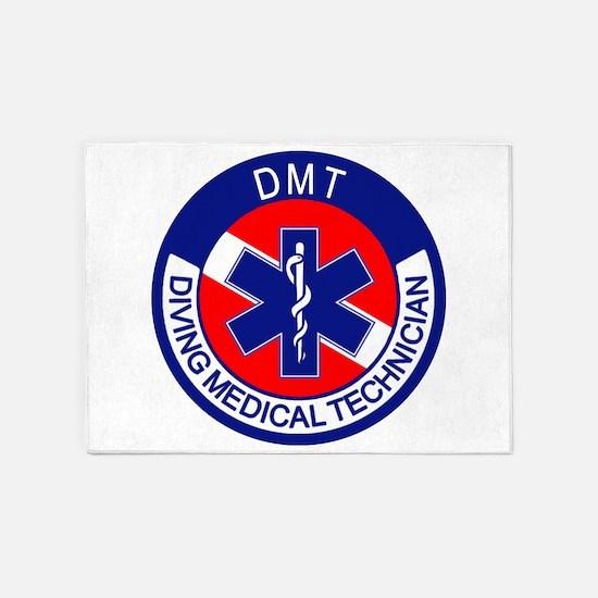DMT Logo 5'x7'Area Rug