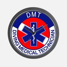 DMT Logo Wall Clock