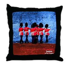 London Theme Throw Pillow