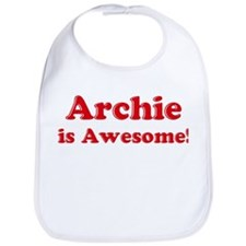Archie is Awesome Bib