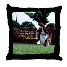 Joyful! Throw Pillow