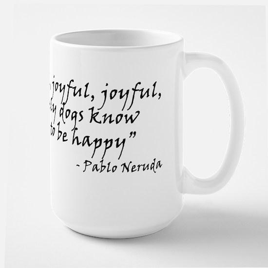Joyful! Large Mug