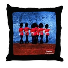 Queen Guards Throw Pillow