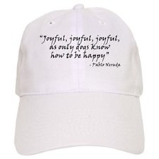 Joyful! Text Baseball Cap