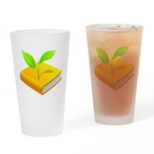 Plant the Seed Drinking Glass