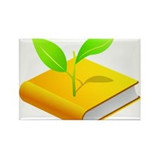 Plant the Seed Rectangle Magnet