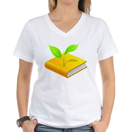 Plant the Seed Women's V-Neck T-Shirt