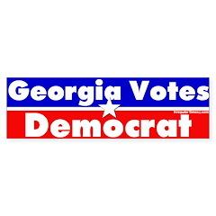 Georgia Votes Democrat