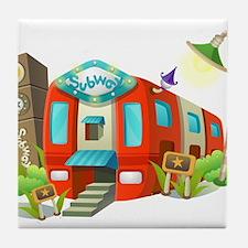 Subway Tile Coaster