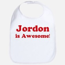 Jordon is Awesome Bib