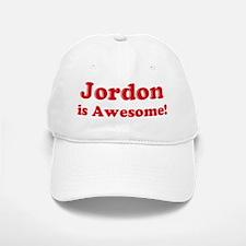 Jordon is Awesome Baseball Baseball Cap