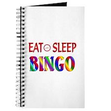 Eat Sleep Bingo Journal