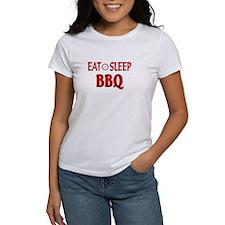 Eat Sleep BBQ Tee