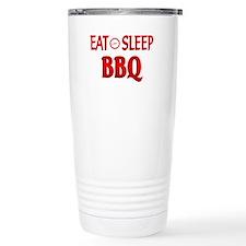 Eat Sleep BBQ Travel Mug