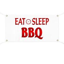 Eat Sleep BBQ Banner