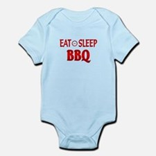 Eat Sleep BBQ Infant Bodysuit