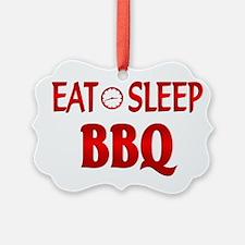 Eat Sleep BBQ Ornament