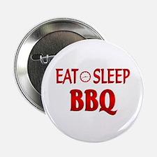"Eat Sleep BBQ 2.25"" Button"