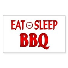 Eat Sleep BBQ Decal