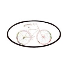 Floral Vintage Bicycle Patches