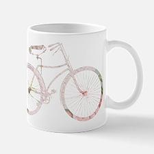 Floral Vintage Bicycle Mug